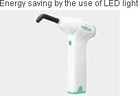 Energy saving by the use of LED light