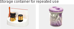 Storage container for repeated use