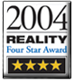 Reality - 4 Star Award 2004 Logo for GC Fuji IX GP FAST