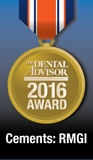 Dental Advisor Top Award - RMGI Cement 2016 Award for GC FujiCEM 2