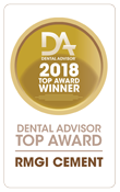 Dental Advisor Top Award - RMGI Cement 2018 Award for GC FujiCEM 2
