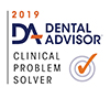 Dental Advisor 2019 - Clinical Problem Solver Logo for GC PLIERS 2