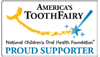 Americas Tooth Fairy - Proud Supporter Logo for GC Fuji PLUS