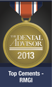 Dental Advisor Top Award - RMGI Cement 2013 Award for GC FujiCEM 2