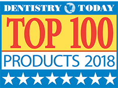 Dentistry Today Top 100 Products 2018 Logo for MI Paste ONE