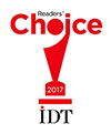 Readers Choice IDT 2017 Logo for GC Initial LiSi Press