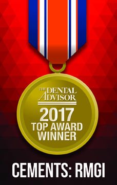 Dental Advisor Top Award - RMGI Cement 2017 Award for GC FujiCEM 2