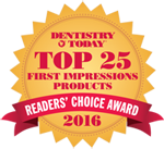 EQUIA Forte First Impressions Product Award 2018 from Dentistry Today3