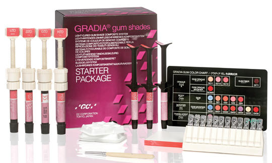 Image of GRADIA gum shades