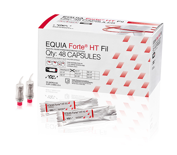 EQUIA Forte HT Fil Shade Assorted Packshot