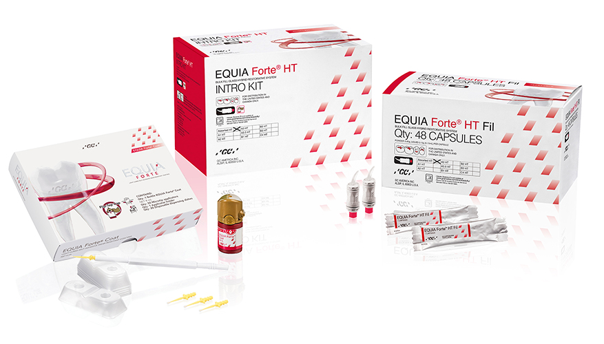 EQUIA Forte HT Intro Kit Shade Assorted Packshot