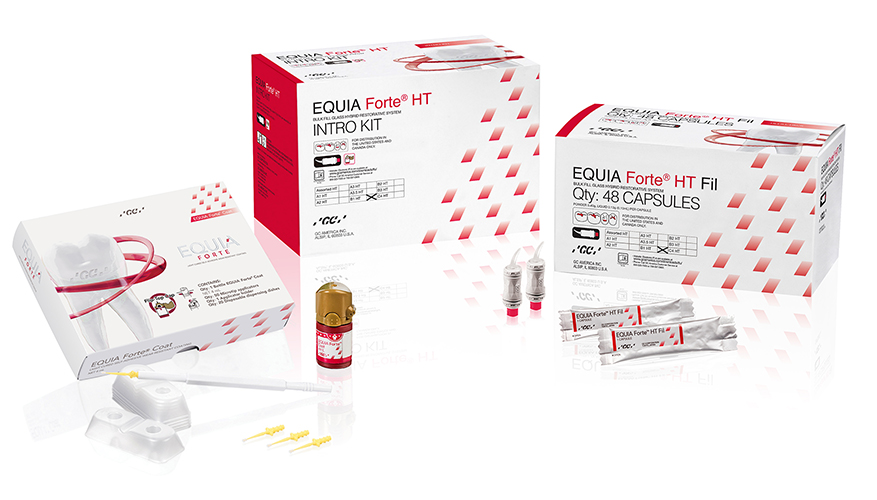 EQUIA Forte HT Intro Kit Shade B1 HT Packshot