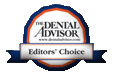 Dental Advisor Editors Choice Logo for G-aenial Flo