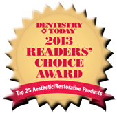 Dentistry Today - Readers Choice 2013 Award for GC FujiCEM 2