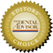 Dental Advisor Editors Choice Award for GC FujiCEM 2